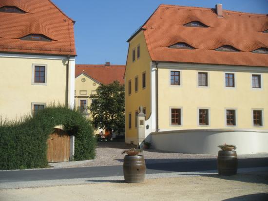 Gastehaus im Weingut Schloss Proschwitz