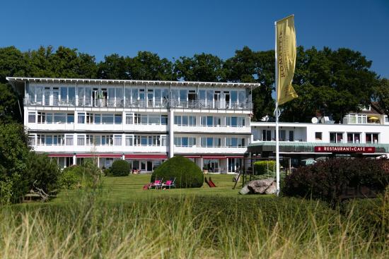 Seehotel Eichenhain: Am Strand, herrlich direkt und toller Blick!