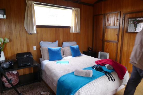 Okarito Beach House: Vue de la chambre