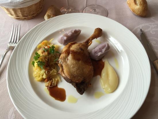 Restaurant Le Vieux Puits : Canard confit