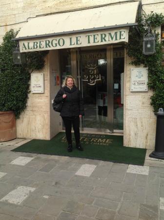 Albergo Le Terme: L'ingresso dell'Hotel