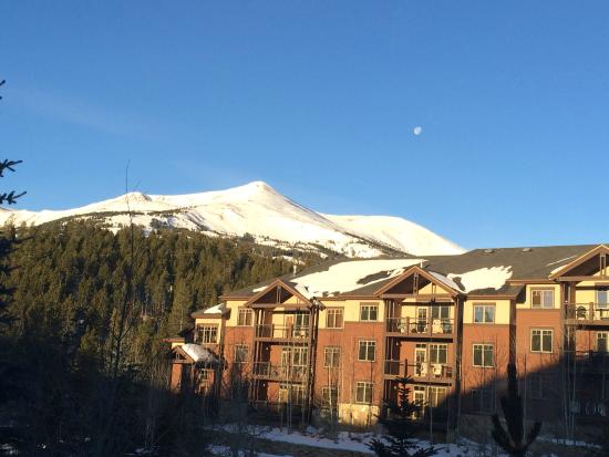 Grand Timber Lodge: View from our room