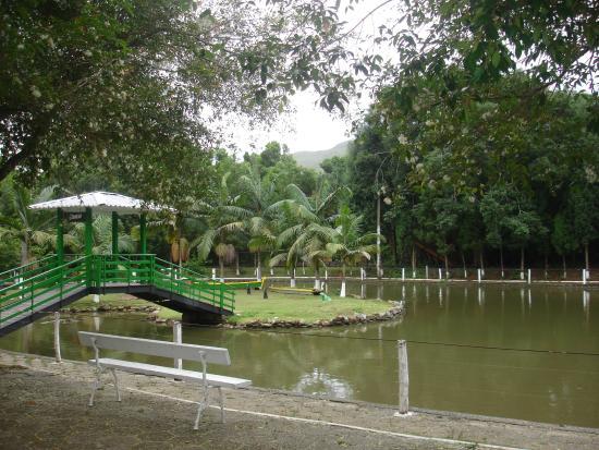 Walter World: Lagoa dentro do parque