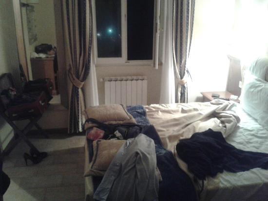 hotel terme bagni di lucca camera