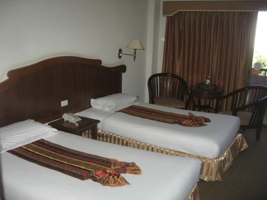 Chiang Mai Gate Hotel: Beds