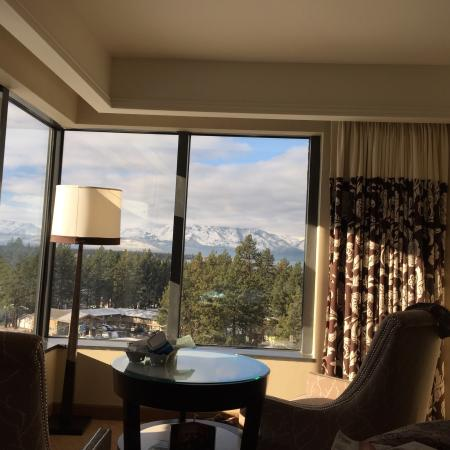 Harveys Lake Tahoe: View from our room on the 9th floor. Room was good view spectacular. We stayed in room 925.
