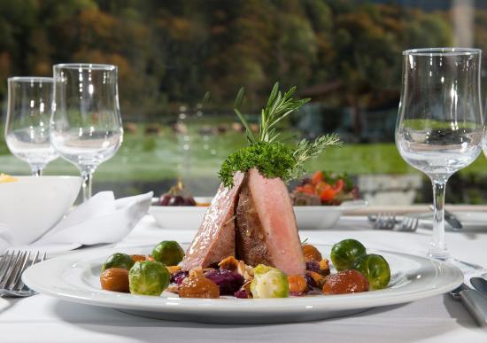 Jungfrau Hotel: Food