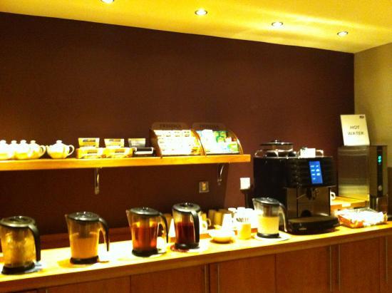 Premier Inn Huddersfield North Hotel: breakfast buffet - there was more