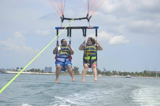 Miami Beach Ocean Water Sports S Love Our Tandem Parasailing