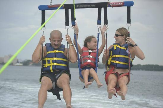 Miami Beach Ocean Water Sports Fun And Safe Activity For The Entire Family