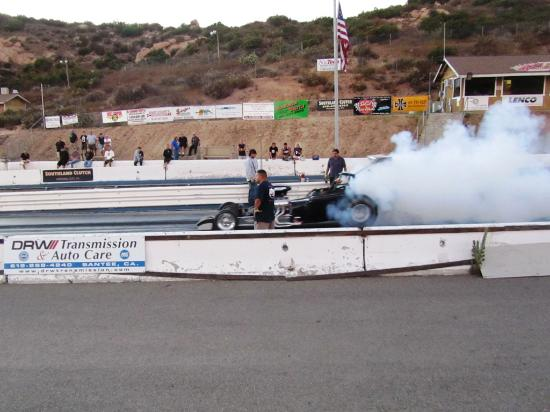 Lakeside, CA: Prerun Burnout