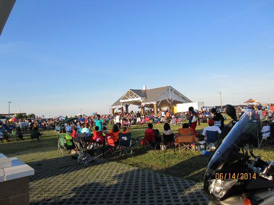 Buckroe Beach and Park: Summer concert at the Pavilion