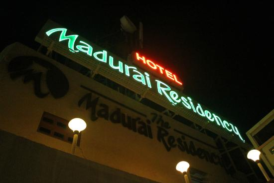 Madurai Residency : The hotel from the rooftop