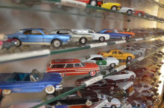 Many Toy Cars On Display Picture Of Cotswold Motoring Museum