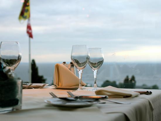 BEST WESTERN Hotel Rebstock: Aussicht vom Restauranttisch