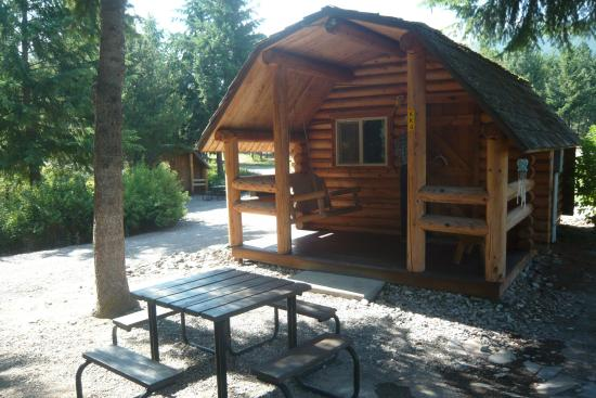 Rustic Sleeping Cabin Picture Of Nugget Rv Park Saint