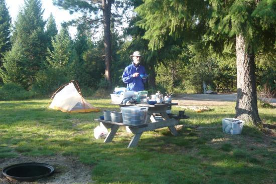 Nugget RV Park : Spacious, grassy tent sites