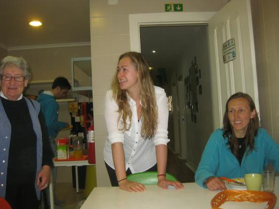Lisboa Central Hostel: Lina, Eliza and Czech lady