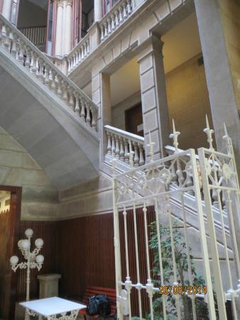 Hotel Lauria: В холле отеля