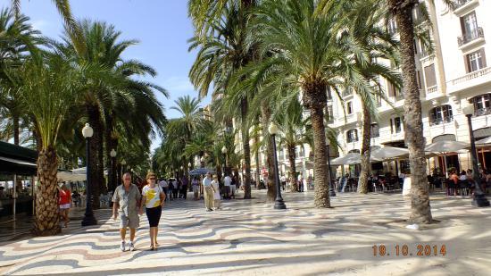 Explanada de España : Esplanada de Alicante