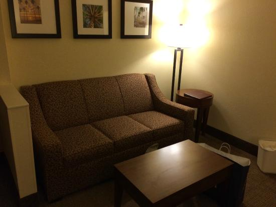 Comfort Suites Miami / Kendall: Living room area