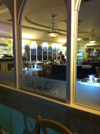 blue fin restaurant review