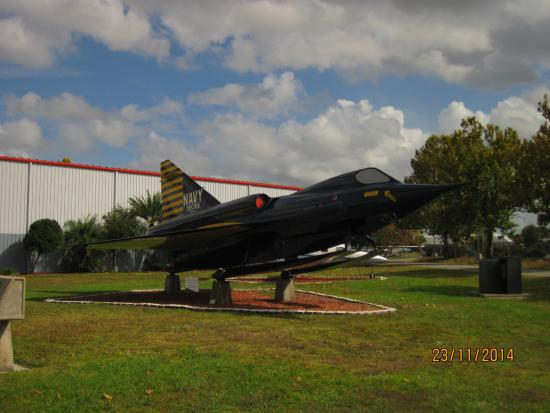 The Florida Air Museum at Sun 'n Fun: A rare Convair Sea Dart.