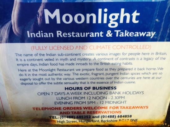 Indian Restaurant Hungerford