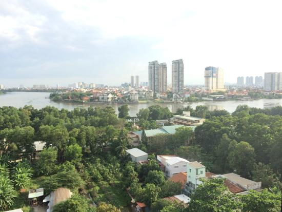 Saigon Domaine Luxury Residences: View from 11th floor