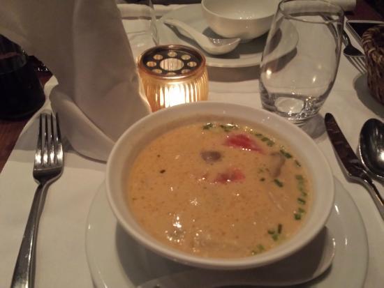 Siamin: soupe thai