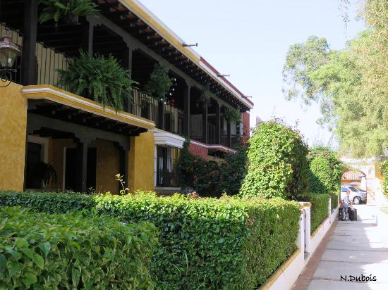 Villa Colonial: Maisons sur deux étages