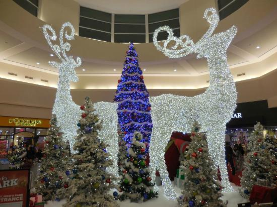 memorial city mall the big christmas scene impressive