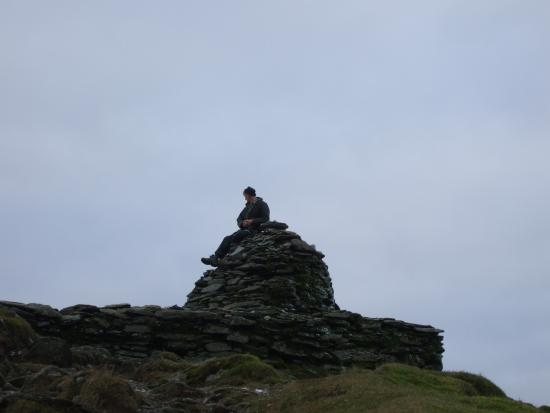 Old Man of Coniston: The Summit.