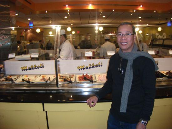 Makkoli Seafood Buffet: Buffet Counter