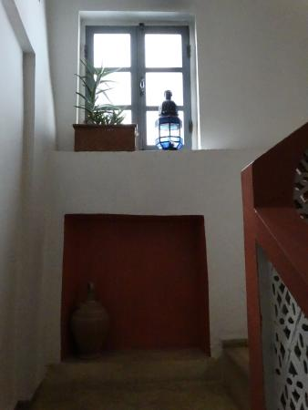 Dar Latigeo: Detalles de la escalera