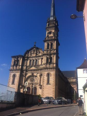 Cathedrale de Belfort: A Catedral.
