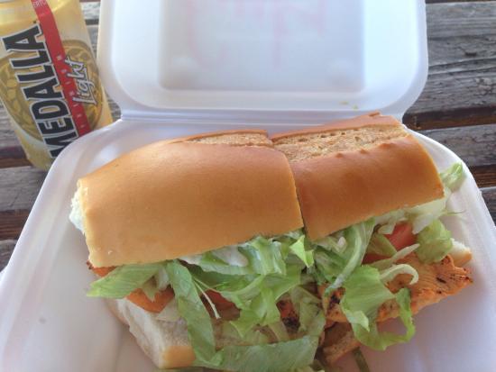 Sol Food: Funky Chicken Sandwich