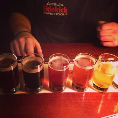 Rock Bottom Brewery: Beer samples