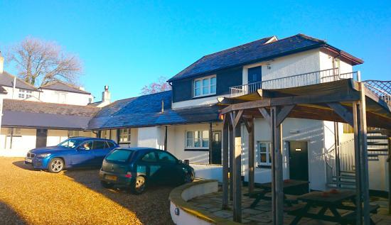 The Anchor Inn : Accommodation and car park at rear