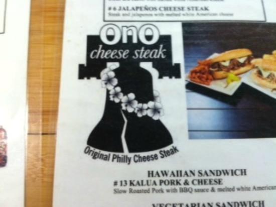 Ono Cheese Steak Waikiki: 1