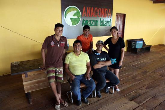 Anaconda Amazon Island : Jungle Staff