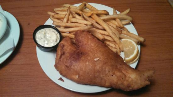 The Green Goat Food & Drink: Fish and Chips