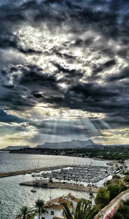Moraira, Spanien: Вау!