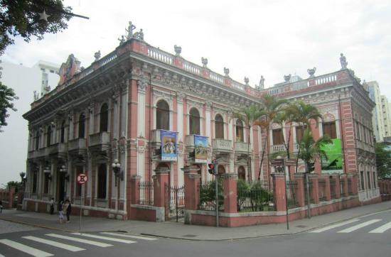 Museu Historico Santa Catarina: Fachada do muséu