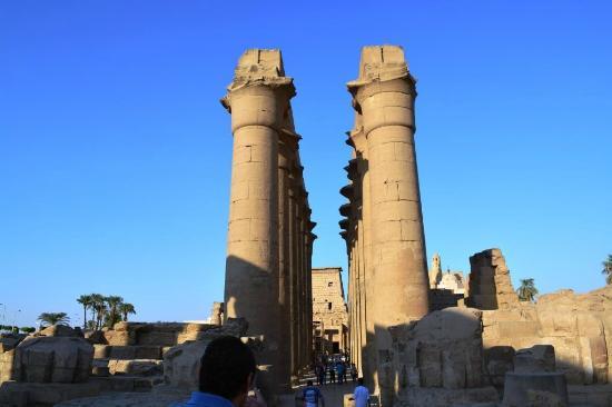 Temple of Amun : Templo de Amun dentro do Templo de Karnak em Luxor