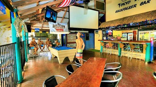 Kimberley Klub: Bar