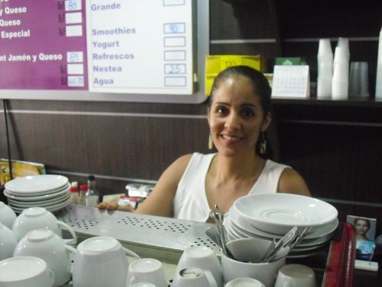 Hotel Colibrí: Cafeteria