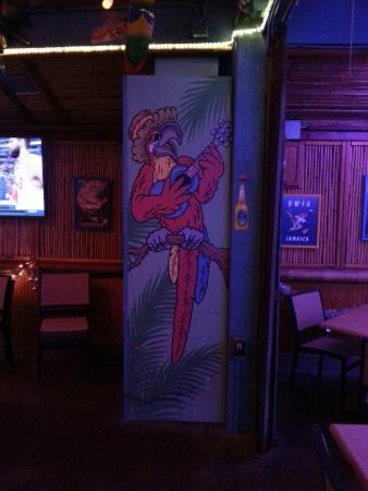 Parrot Key Caribbean Grill : Caribien-Flair/Restaurant