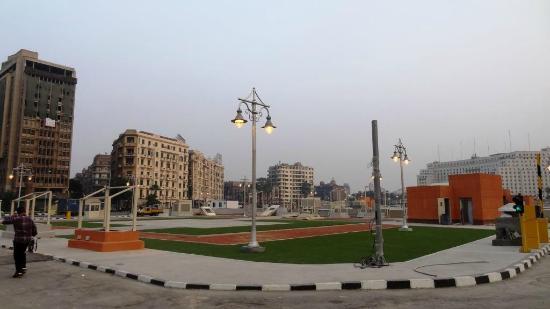 Liberation Square (Midan El-Tahreer): Região da Praça Tahir @ Cairo