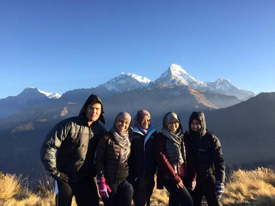 Google Trek - Private Day Tours: A group photo with our guide, Ashok (far right)